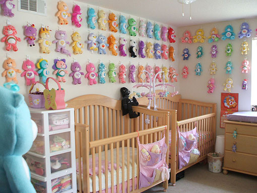 Как украсить комнату новорожденного своими руками 794