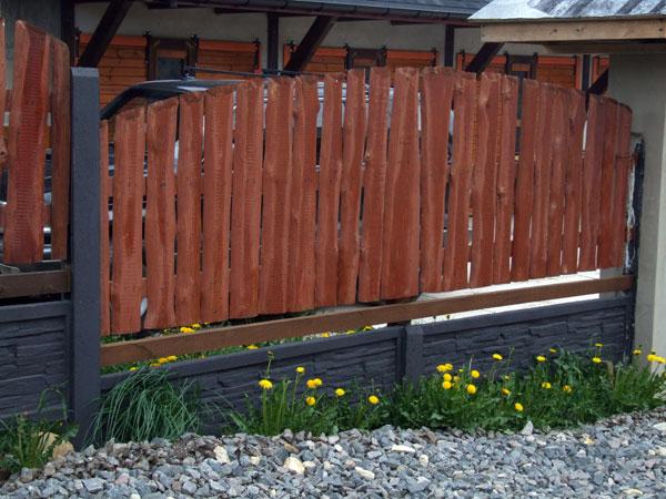 Забор из горбыля для дачи фото