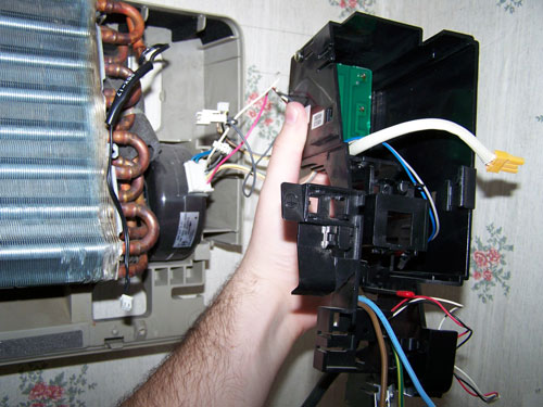 Ремонт внутреннего блока кондиционера своими руками